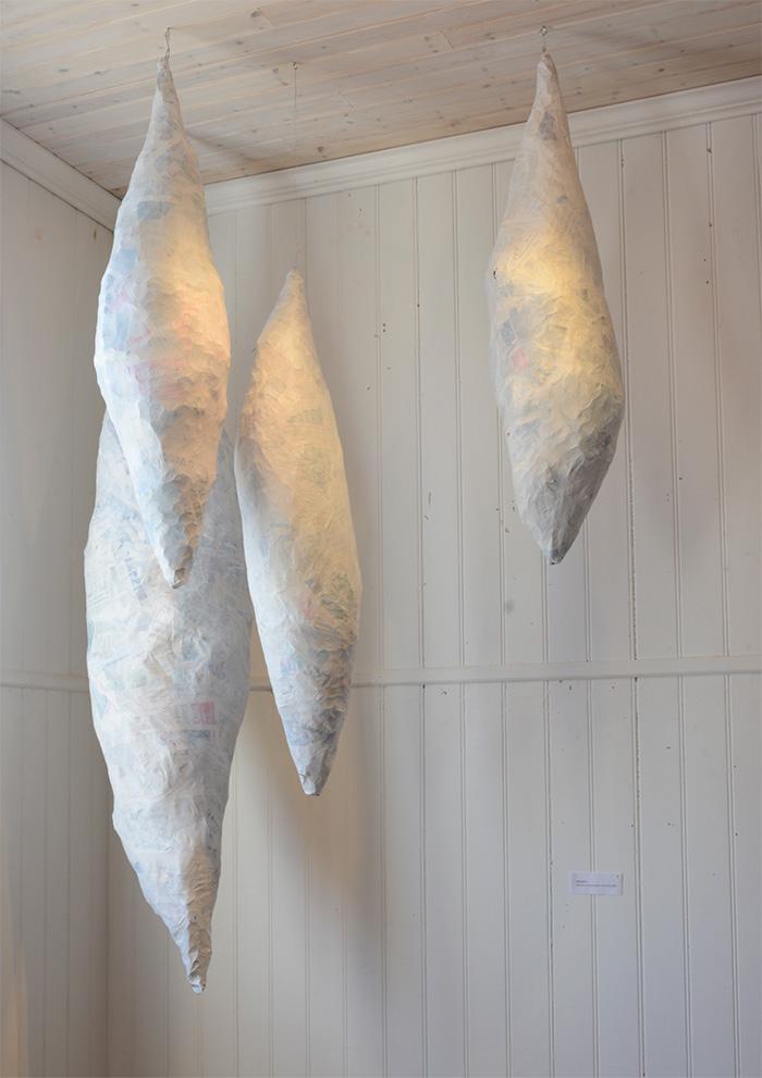 Cocoon, papperskokong, av mfj-form