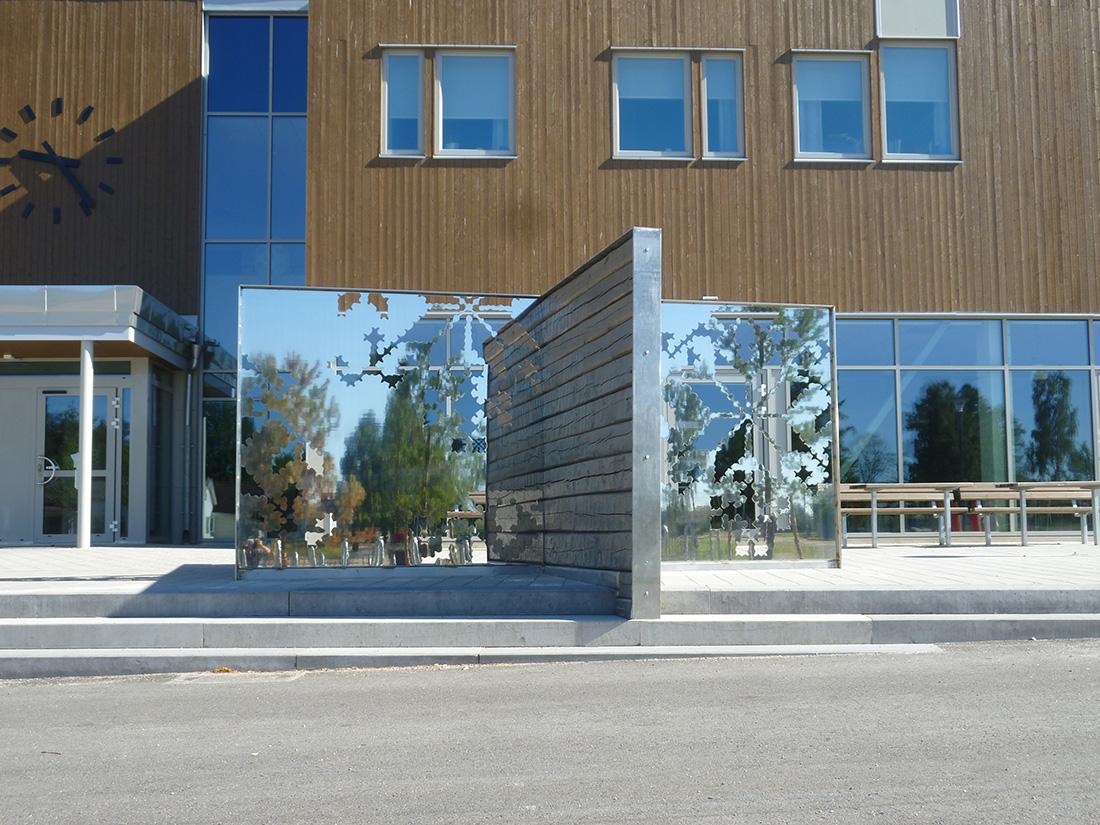 Krysset, Perslundaskolan, Ockelbo kommun, av mfj-form