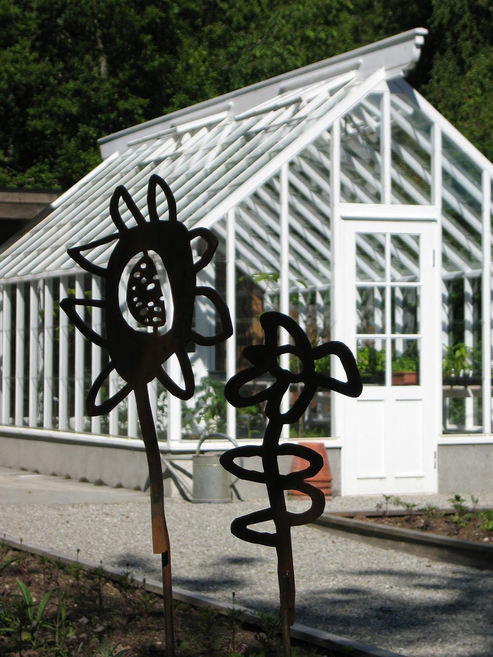 Blommor, bin & barn, 2009, konstprojekt Ockelbo Kommun, av mfj-form