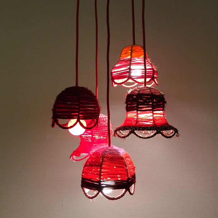 Ernst 2, virkade lampor, av mfj-form