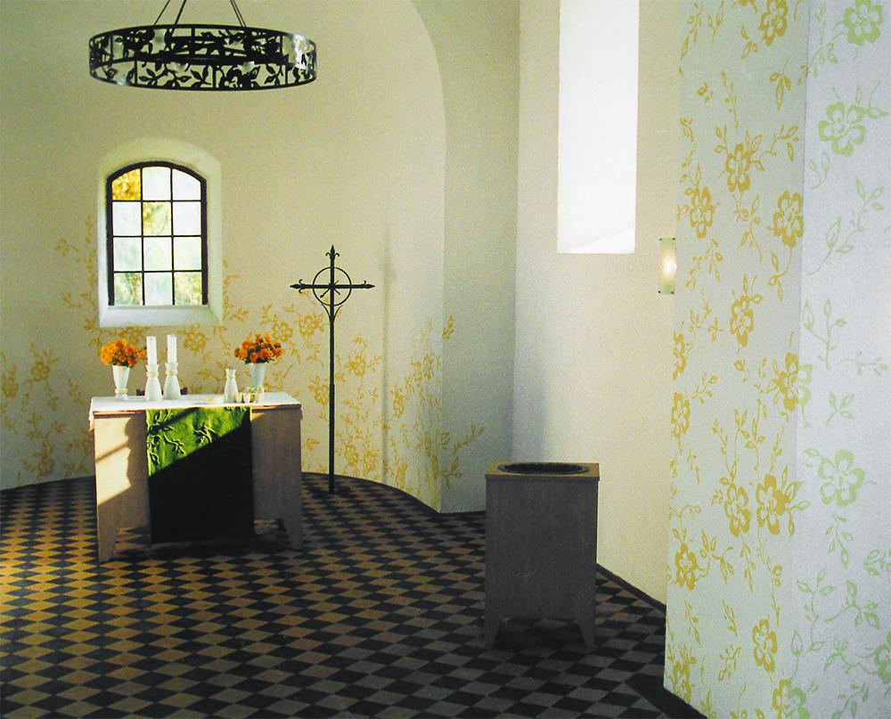 Examen 1999, St.Petri-kyrkan i Senst, Wittenberg, mfj-form