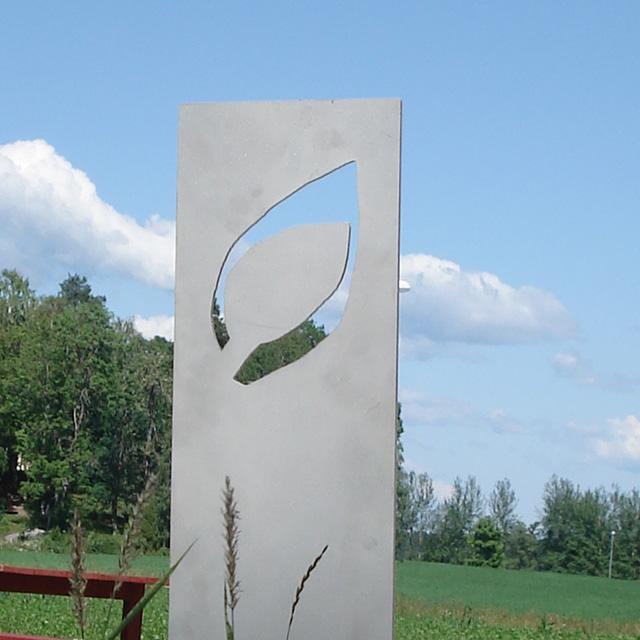 Blad Röse 1, Wij Trädgårdar, Ockelbo, av mfj-form