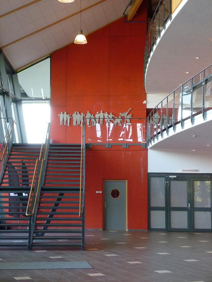 Silhuetter – Möten, 2011, Göransson Arena, Sandviken, av mfj-form