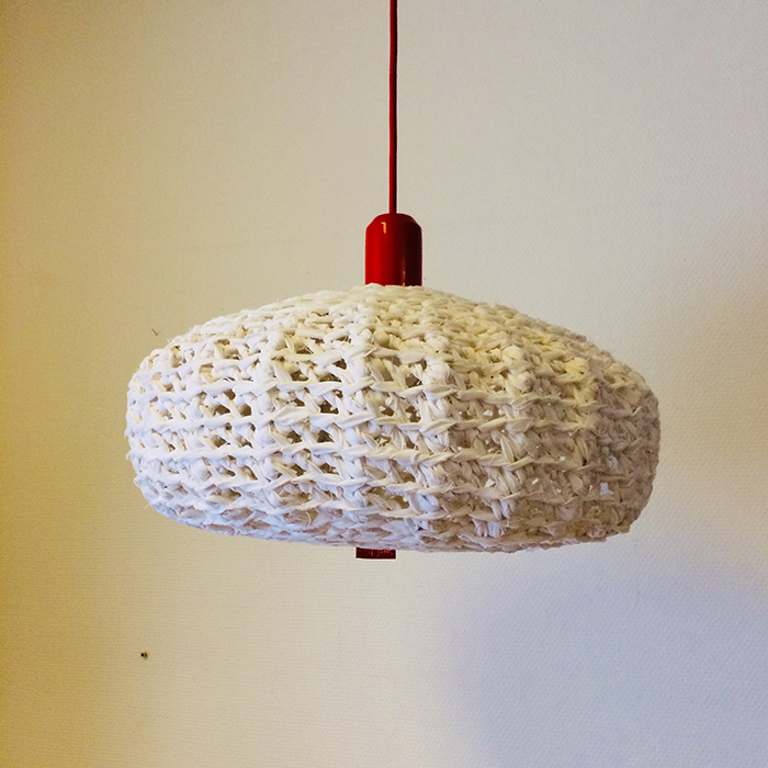 Virkade lampor, av mfj-form